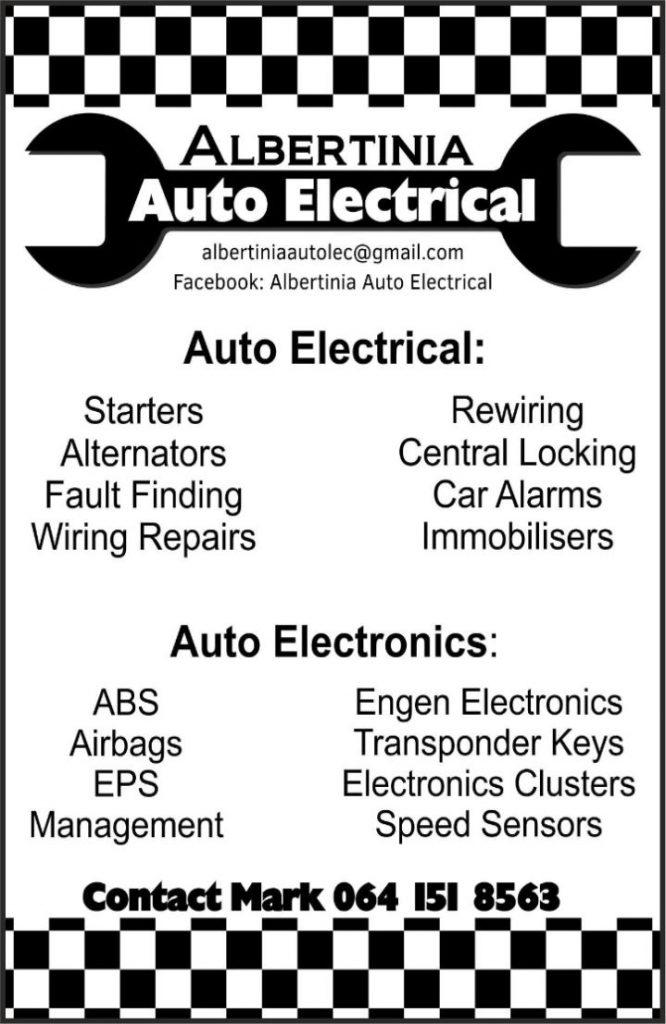 Albertinia - Auto Electrical | Starters | Alternators | Engine | Rewiring