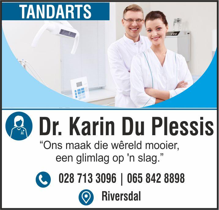 Dr Karen du Plessis | Riversdal Dokter | Doctor Riversdale