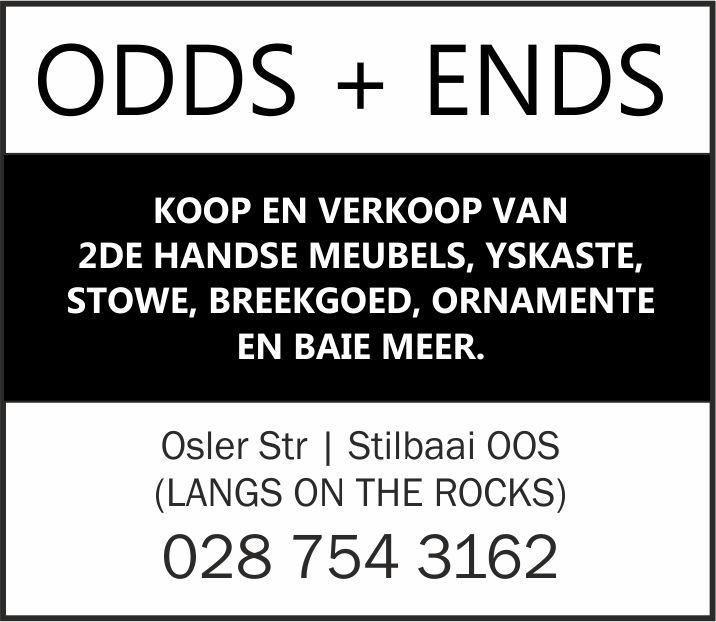 Odds & Ends - Tweede handse winkel | Secondhand Shop | Stilbaai