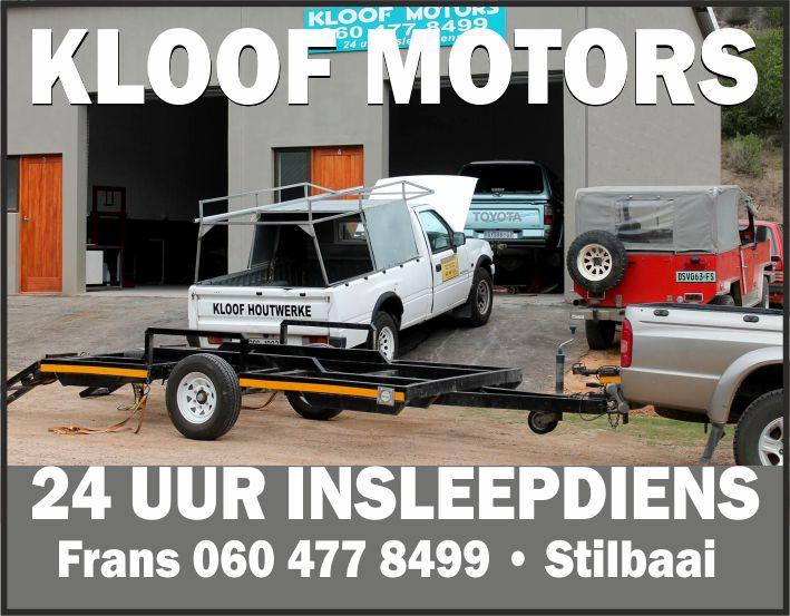 Kloof Motors - Stilbaai | 24 uur insleep diens | Car Repairs